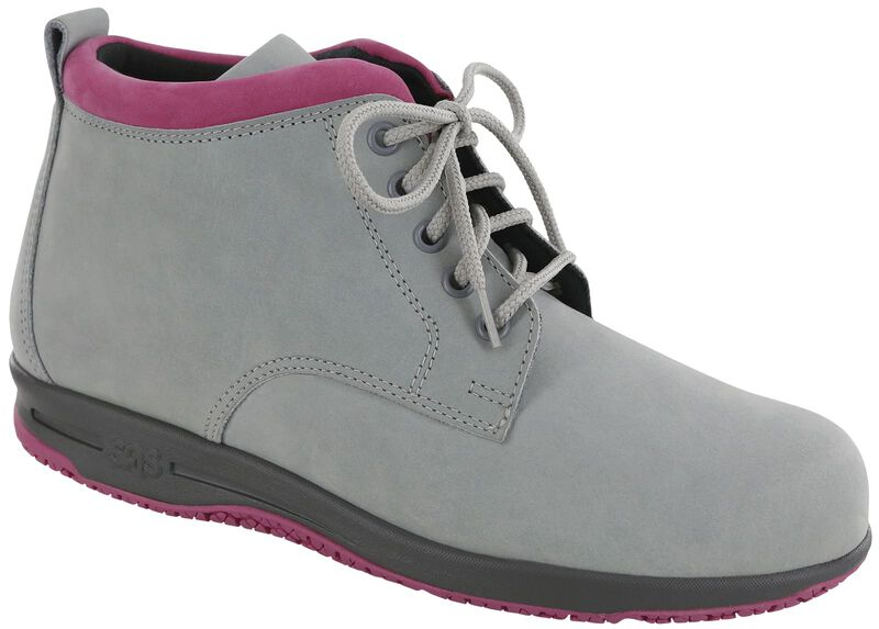 Gretchen, Gray / Hot Pink, large