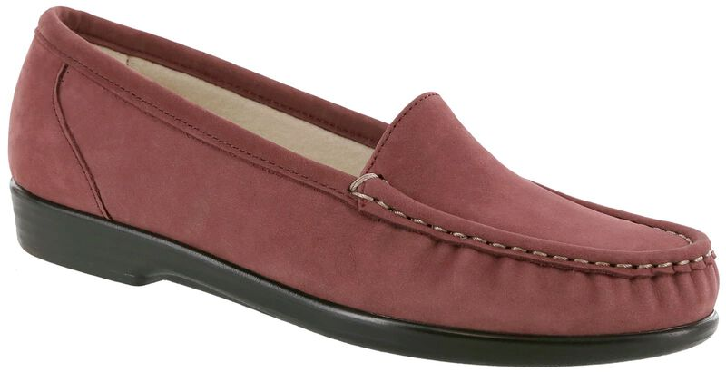 Simplify Wine Nubuck Right .75 View