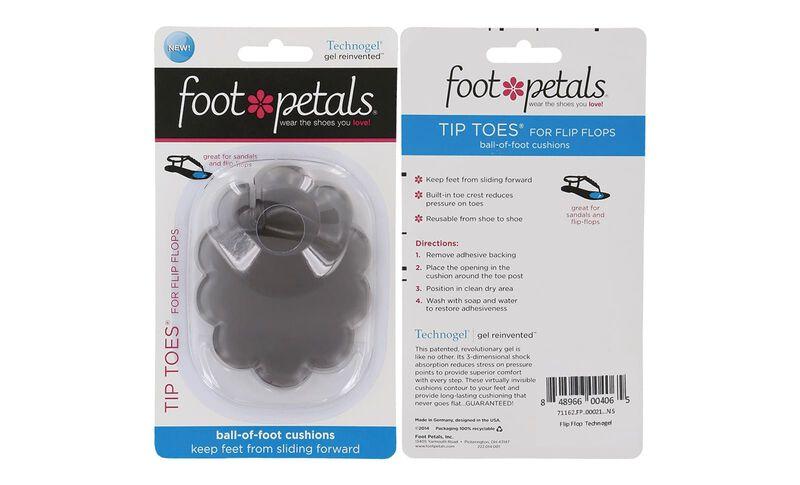 Foot Petals Flip Flops Gel Technogel