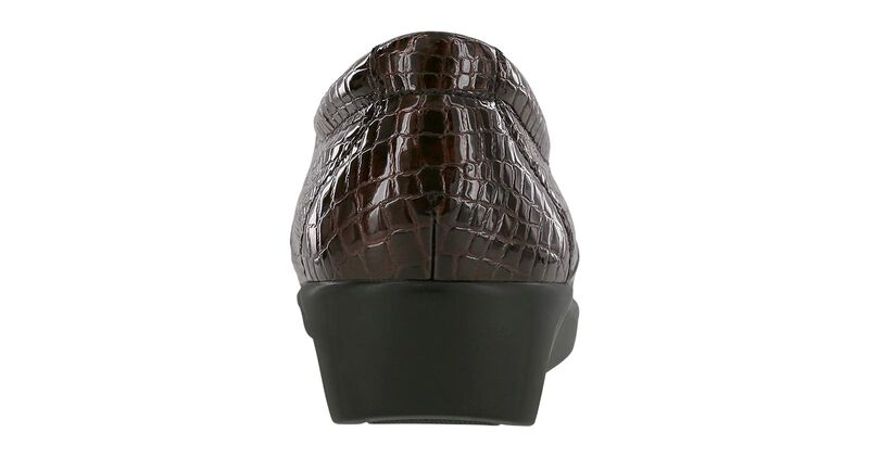 Dream Slip On Loafer, Brown Croc, large