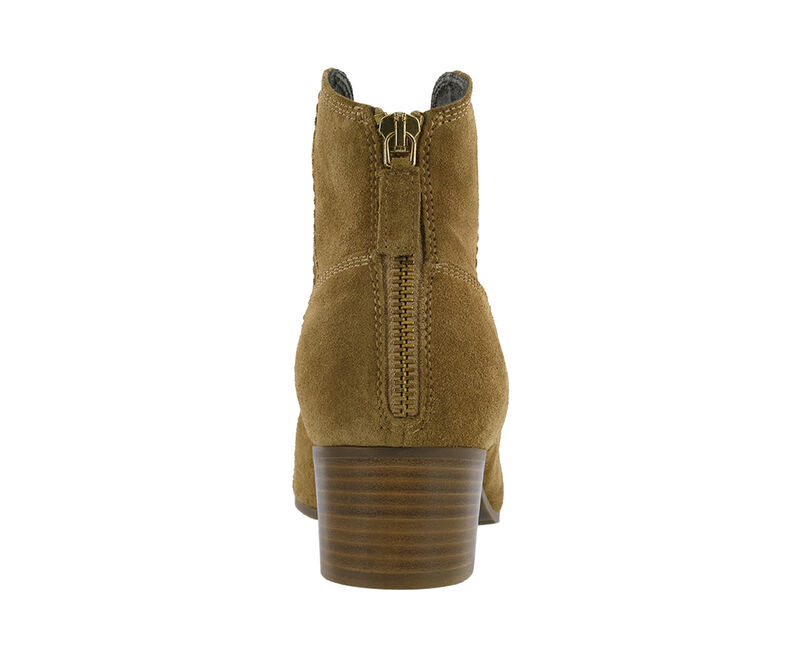 Dylan Ankle Boot, Sand Suede, large
