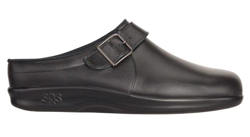 Clog Black Right Side View