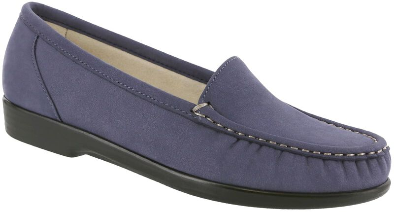 Simplify Navy Nubuck Right .75 View