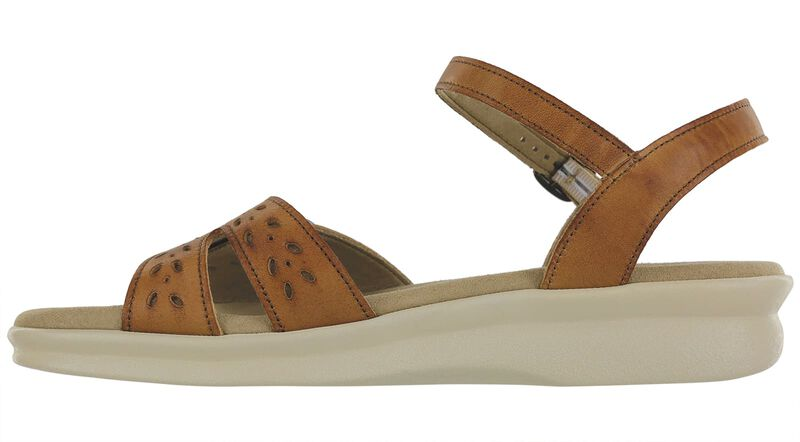 Duo Quarter Strap Sandal, , large