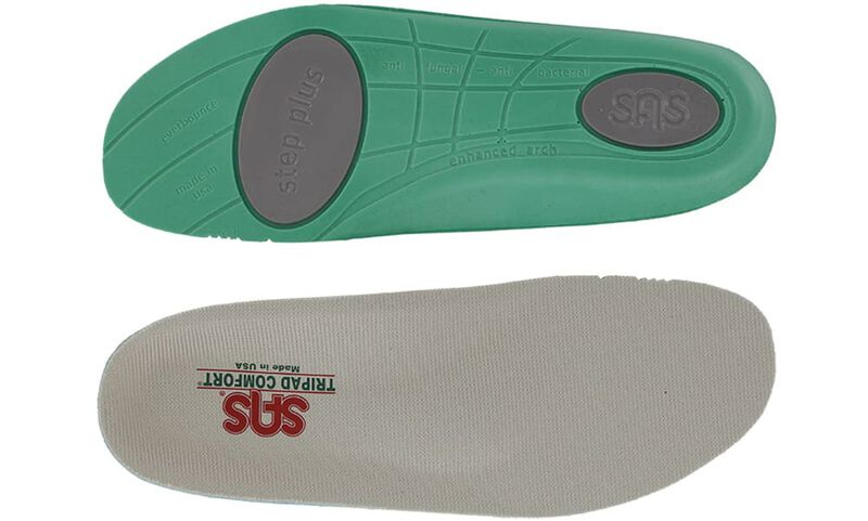 Step Plus Gray Top-Sole View