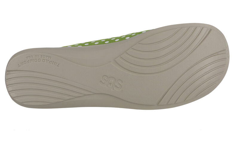 Funk Verde Dot Left Sole View