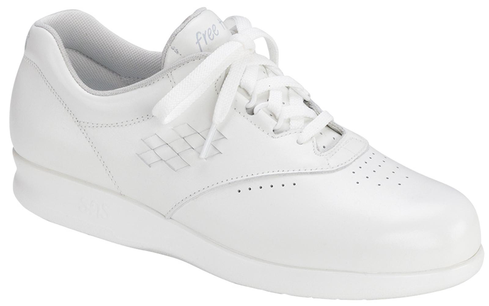 Diabetic Walking Shoe Free Time Sas Shoes D Island Slip On Driving Comfort Leather Black